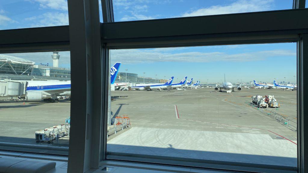 ANA名古屋・中部-東京・羽田路線