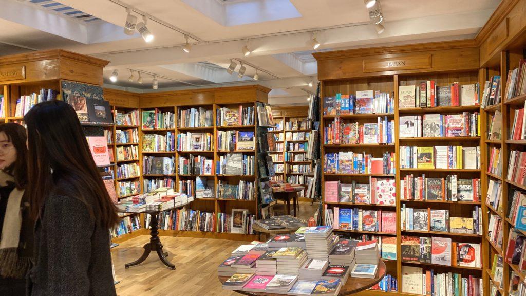 Daunt Book Store 地下