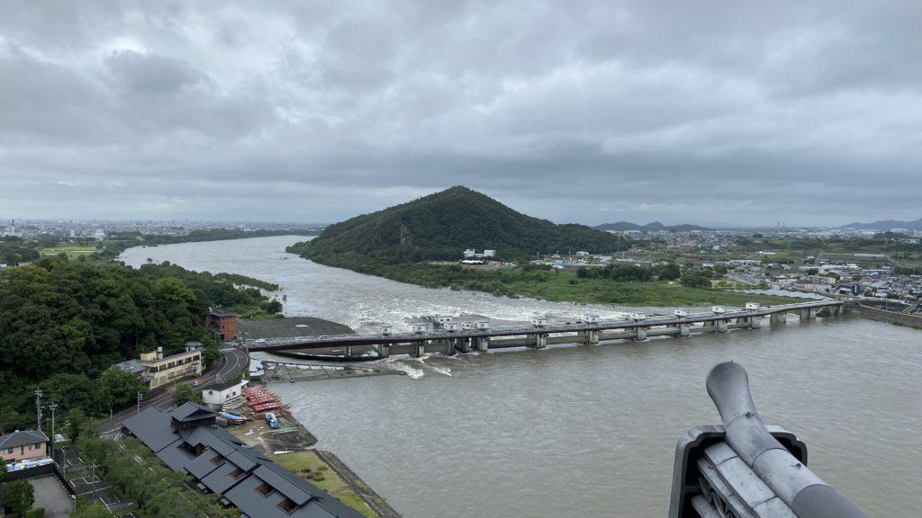 犬山城 天守閣からの景色