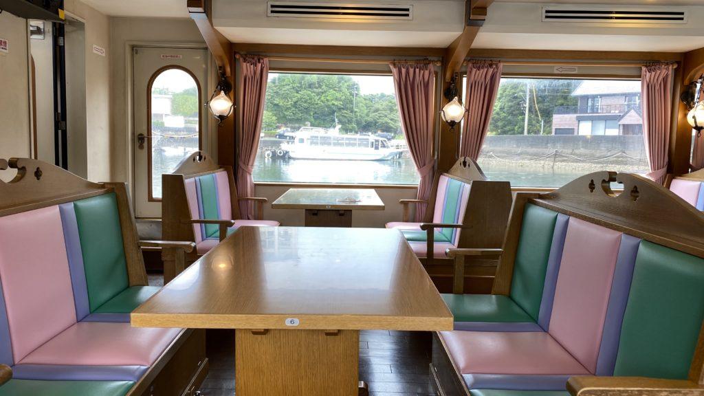 賢島エスパーニャクルーズ 船内
