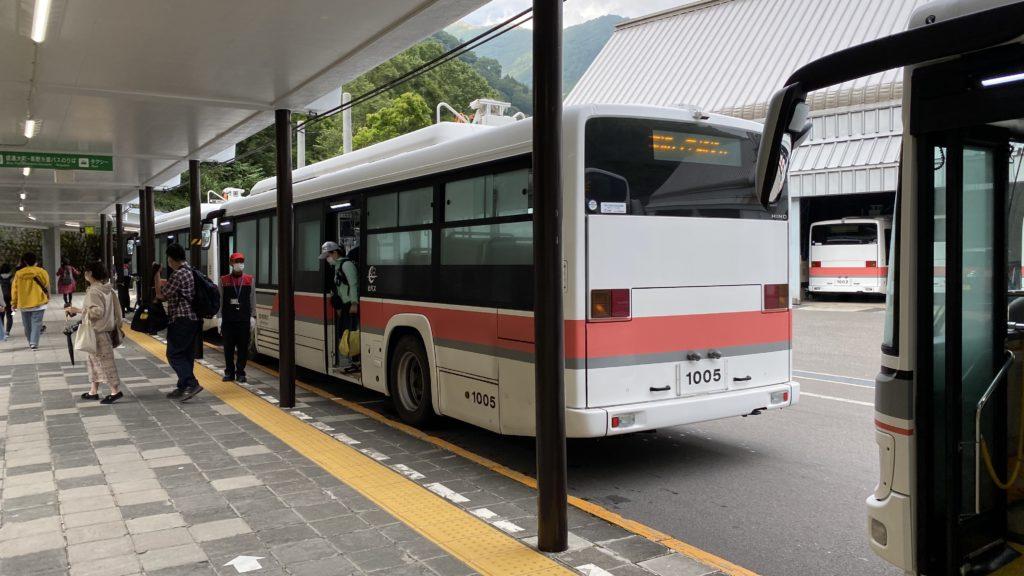 関電トンネル電気バス