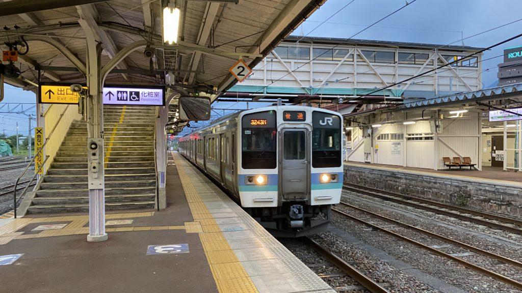 大糸線 普通電車