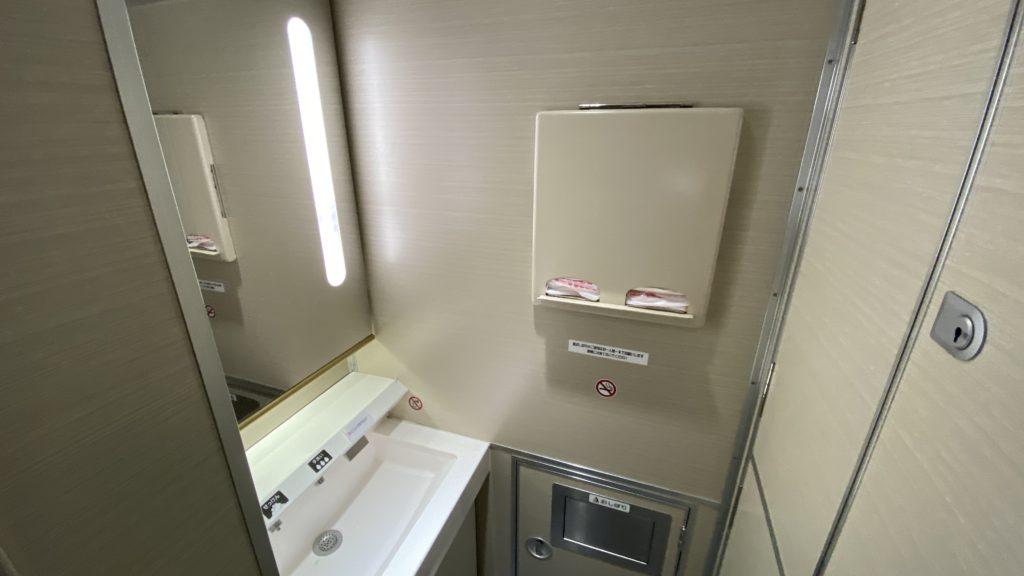 近鉄特急22000系 ACE 洗面台