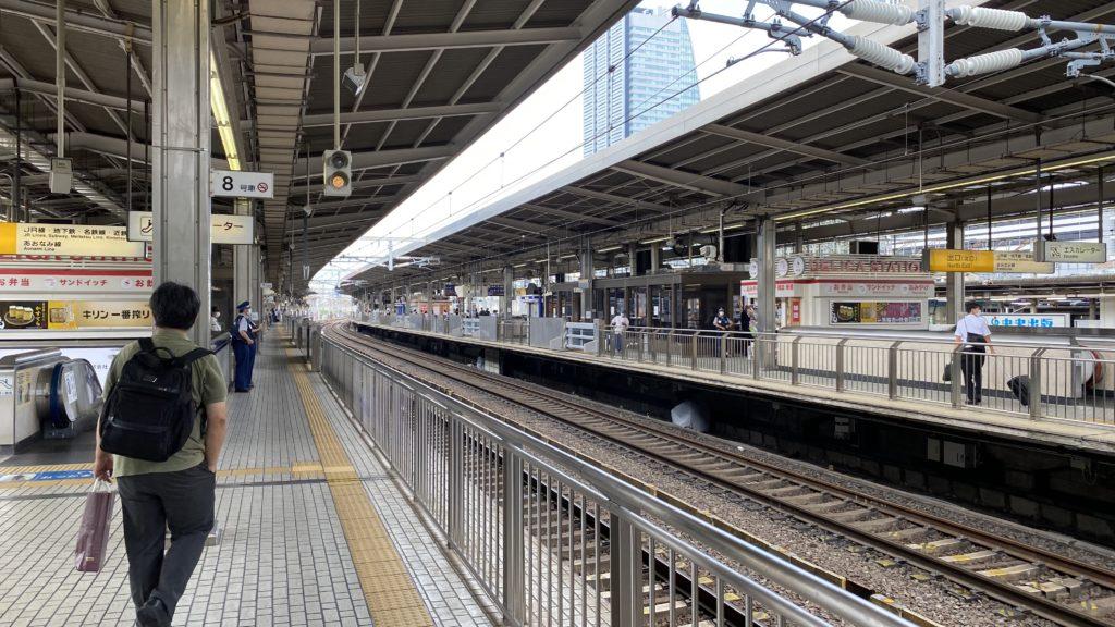 名古屋駅 新幹線 ホーム