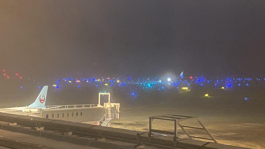 エアターミナルホテル 夜景