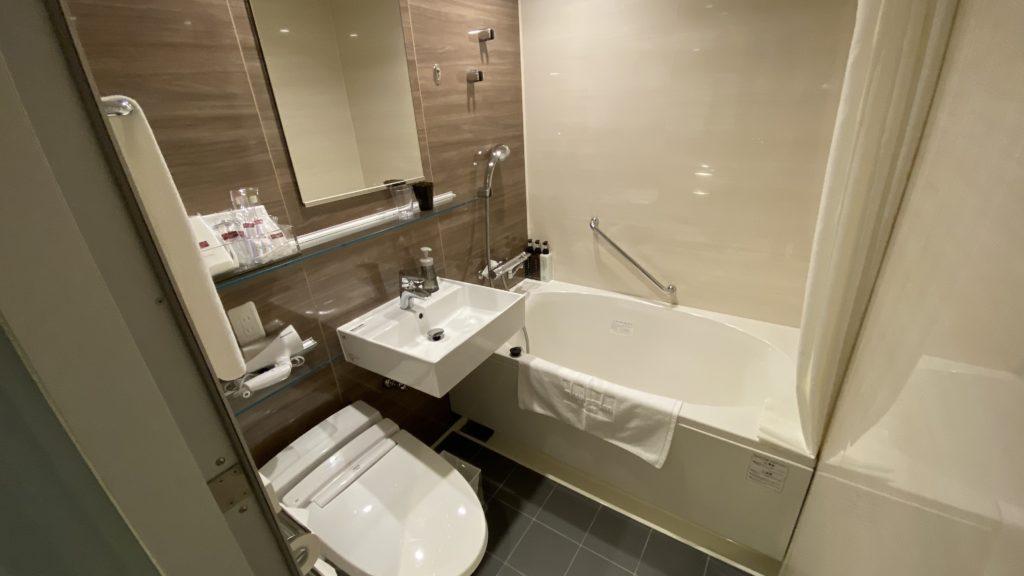 三井ガーデンホテル 浴室