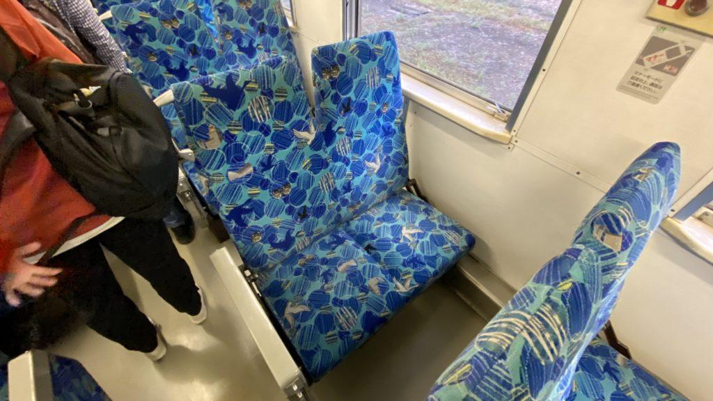 釧網本線 普通列車 座席