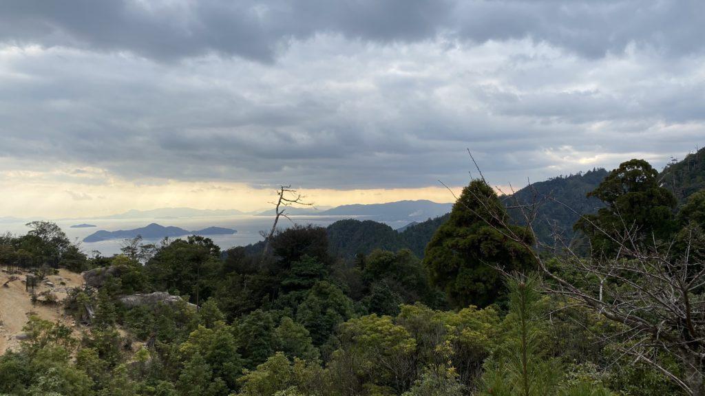 弥山 山登り