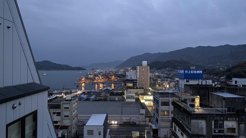 尾道国際ホテルからの眺め