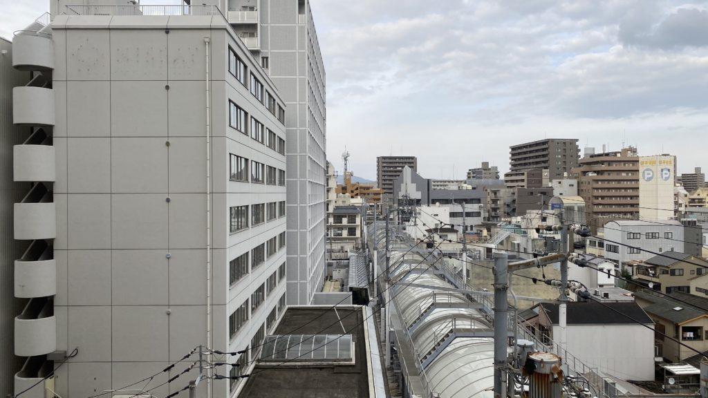 高松東急ホテルからの眺め