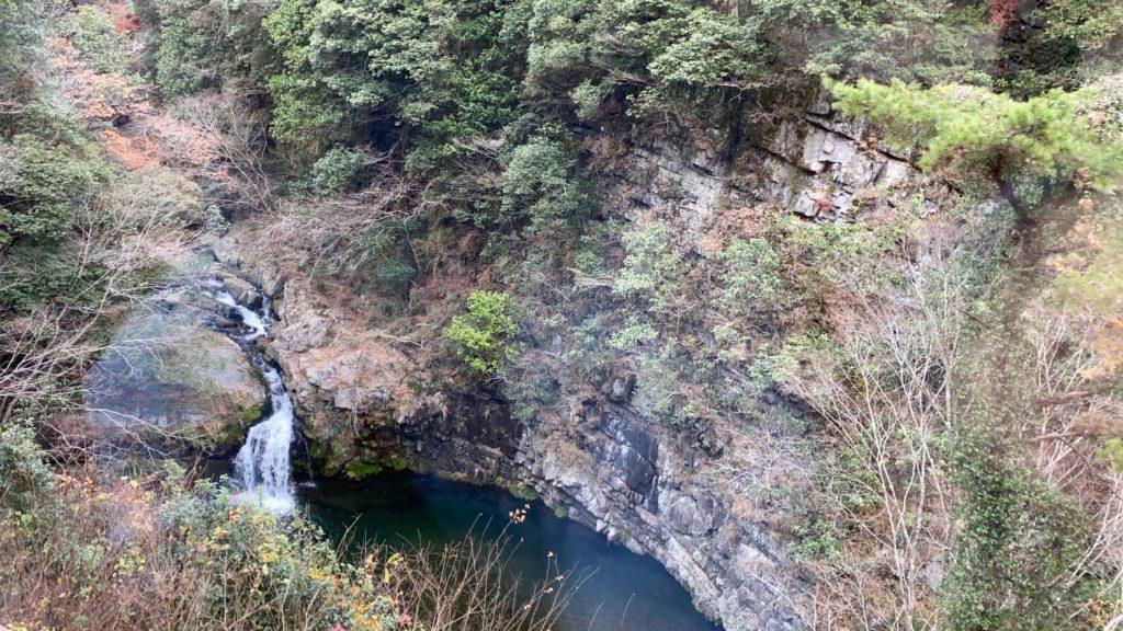 坪尻駅の滝