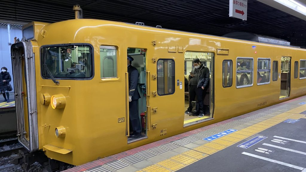 岡山地区の普通列車