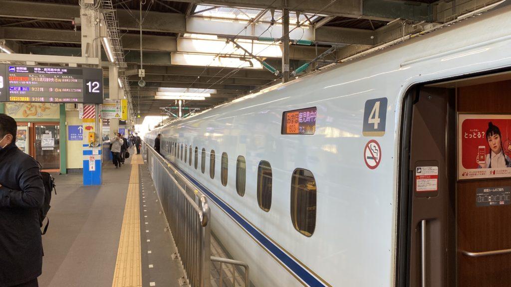 みずほ号 広島駅で