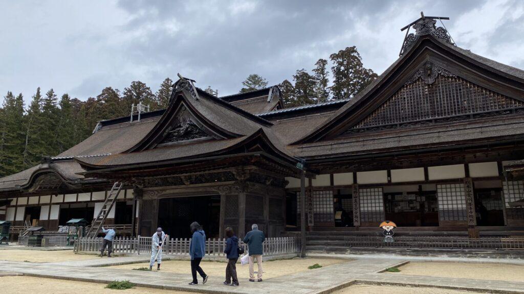金剛峯寺へ、しかし…