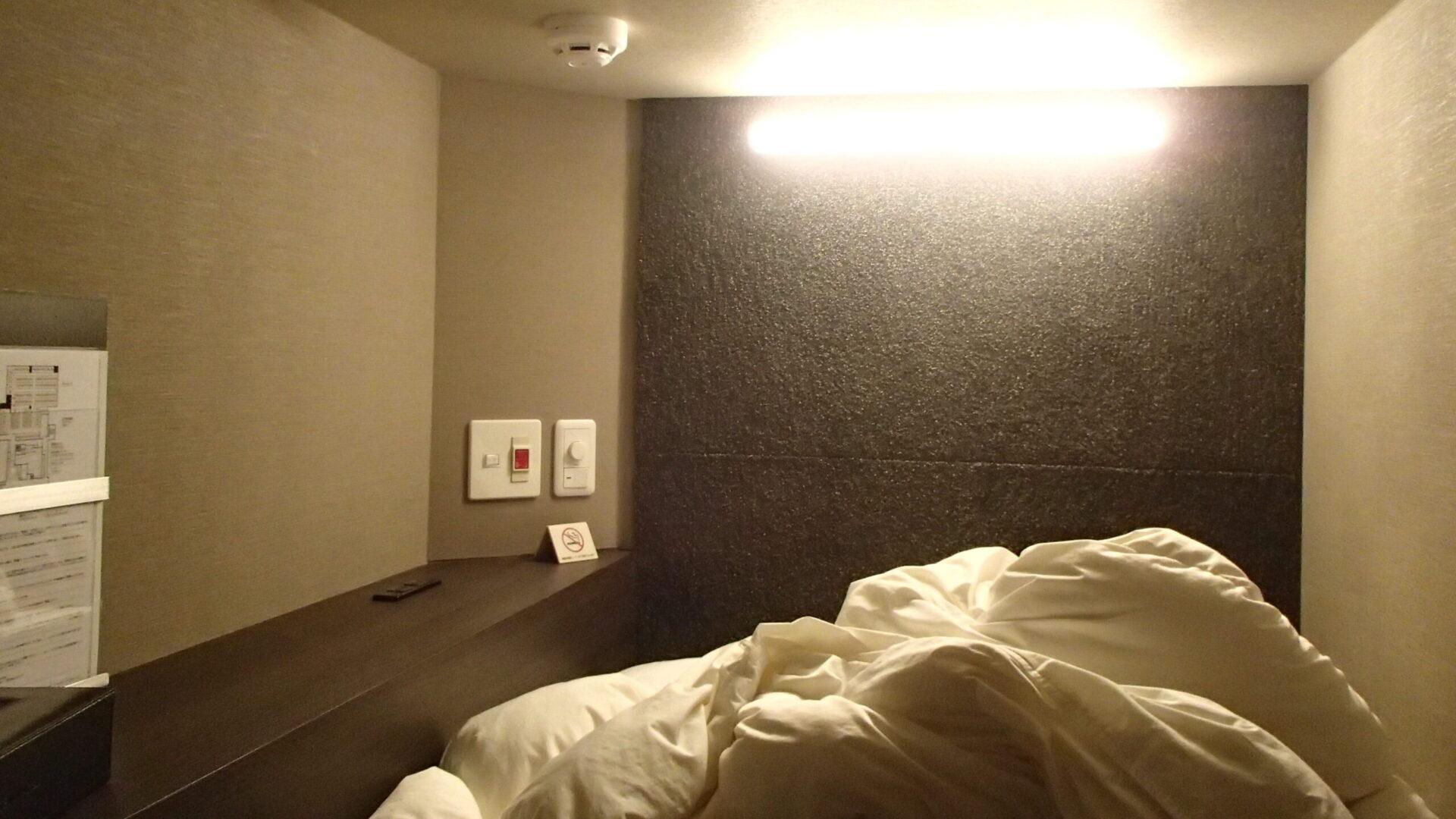 カプセルホテルは狭さ以外にも難ありの場合が多い