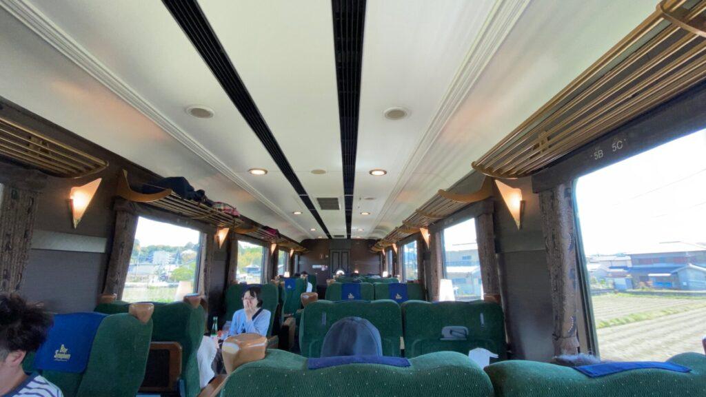 近鉄特急「青の交響曲」で大阪阿部野橋から吉野へ