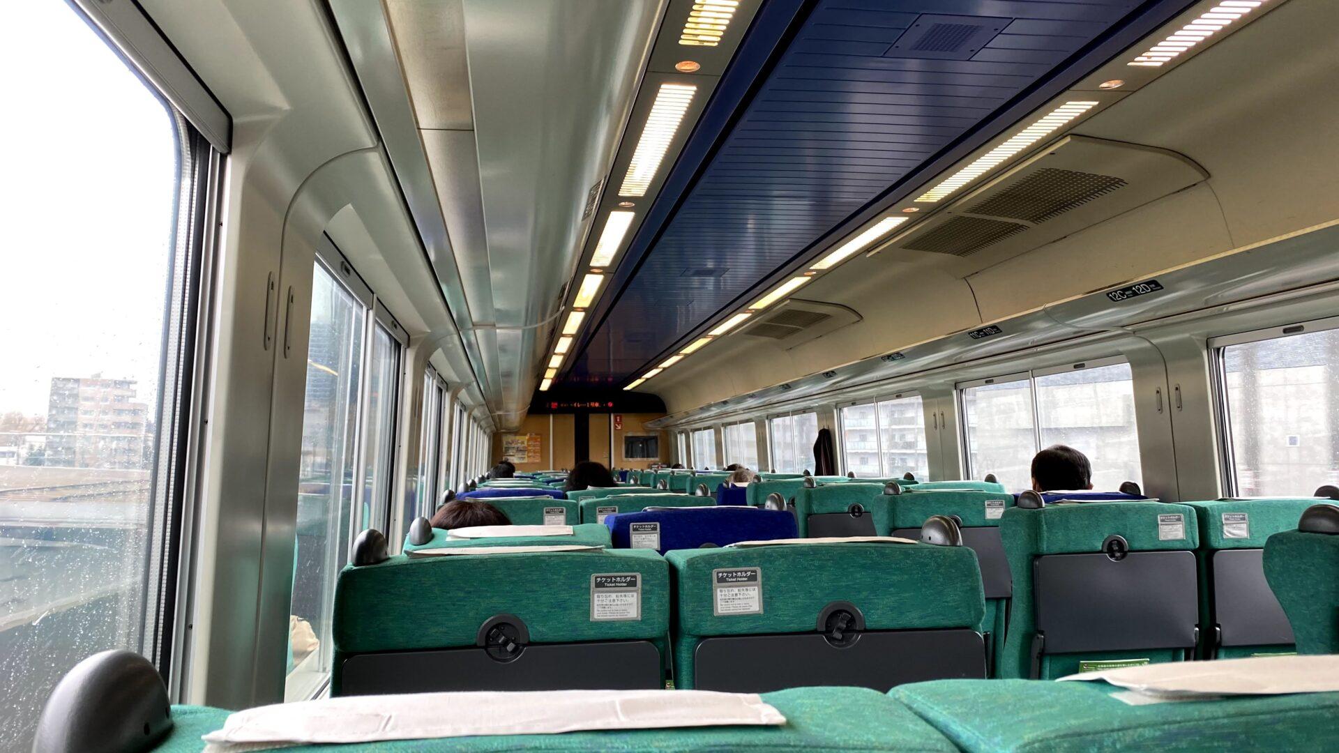 札幌で3分乗り換え!特急ライラックに乗車