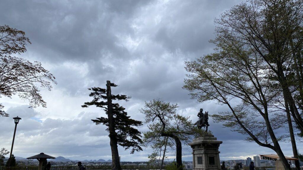 青葉城=仙台城です